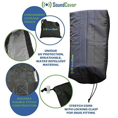 Sonne/Staub/Wasser Schutz für Outdoor Lautsprecher-Outdoor Lautsprecher Cover für Yamaha ns-aw194und Polk Audio Atrium 4von Sound, Audio-cover