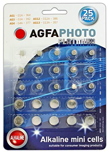 Agfa Photo Mixte Montre Batterie Lot de 25–364 392 377 386 357