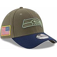 "Seattle Seahawks New Era NFL 39THIRTY 2017 Sideline ""Salute to Service"" Hat Hut"