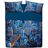 Juego de Sábanas Bassetti Mod. Manhattan cama de 150-160 (4 piezas)