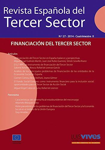 Revista Española del Tercer Sector 27