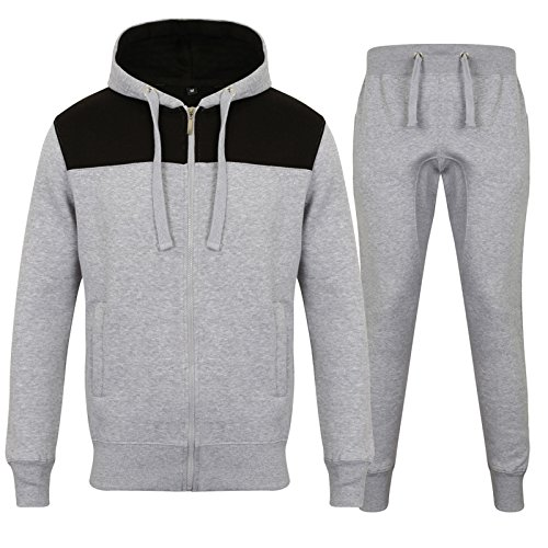 OutFit Designer New Mens Tracksuit Set Fleece Hoodie Top Bottoms