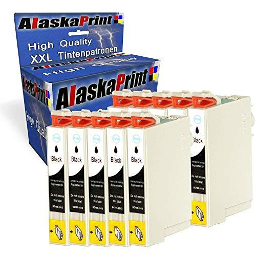 Alaska 10 Druckerpatronen Komp. für Epson T29XL 29 XL 29XL Schwarz Black BK für Expression Home XP 342 345 245 442 332 235 432 445 435 335 247