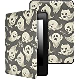Dailylux SmartShell Case for Kindle Paperwhite, Slim-Fit Smart Stand Cover Case With Auto Sleep / Wake for All-New Amazon Kindle Paperwhite (Fits All 2012, 2013, 2015 and 2016 Versions)-Hallowmas