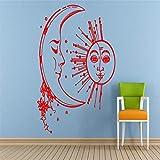 Kreatives Design Spezielle Mond Sonne Stern Raum Nacht