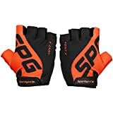 Sportigoo SPG Cycling Gloves - Black/Orange