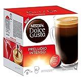 Nescafé Dolce Gusto Preludio Intenso, Coffee, Coffee Capsules, 16 Capsules