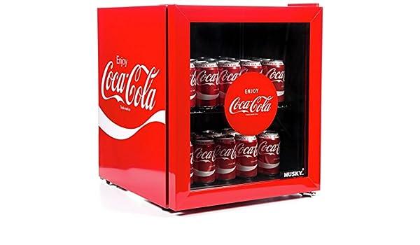 Coca Cola Retro Kühlschrank Schwarz : Husky coca cola liter getränke kühler amazon sport freizeit
