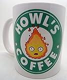 Sudio Howls-castle ghibli imitazione di Starbucks-Tazza Mug, 11 oz, alta qualità