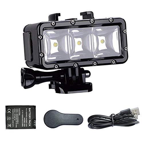 SupTig 30M de Alta Potencia Impermeable Regulable LED luz de vídeo Fill...