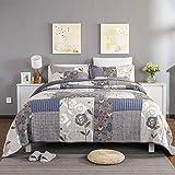 Cotton Bettdecke 3 Stück Gedruckt Bettwäsche Bettwäsche Cover Set mit Kissenbezüge Doppel Bettwäsche Set