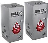 Bolero Instant Getränkepulver Strawberry Erdbeeren (24er Pack) mit STEVIA