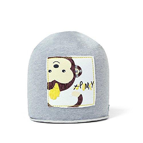 Hilltop Kinder Beanie/Mütze aus Baumwolle, für Mädchen und Jungen (1 bis ca. 8...