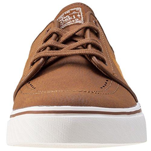 Nike SB Zoom Stefan Janoski L Leather Ale Brown/Desert Ochre Sail Multi