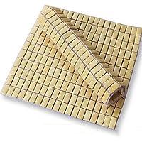 Comparador de precios Estera Xiaolin Verano 2 Piezas Mahjong Cojín Cómoda Cómoda De Oficina Sofá De Verano Cojines De Coche De Bambú Cooler Cojines De Oficina Alfombra para el hogar (Tamaño : 45 * 45cm) - precios baratos