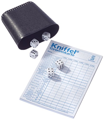 Schmidt-Spiele-51203-Kniffel-Metalldose