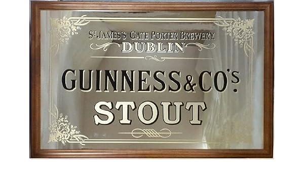 Zuiver Leaning Spiegel : Guinness st james s gate großer spiegel amazon küche haushalt