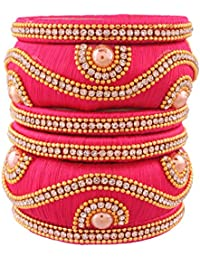 I Jewels ADB148 Bracelet fileté Traditionnel plaqué Or pour Femme 08b6ceeb510f