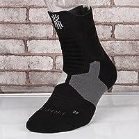 LIUMIAO 3 Pares De Calcetines De Baloncesto, Calcetines Deportivos, Hombres Y Mujeres Ejecutando Calcetines Transpirables,5
