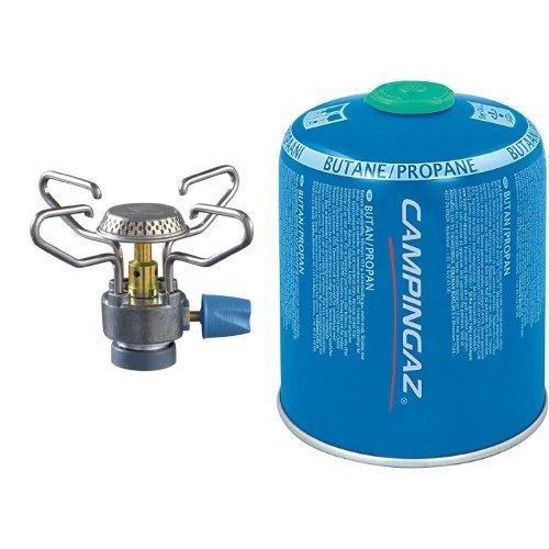Campingaz Gaskocher Bleuet Micro Plus, 310/413 & Campingaz Ventil-Gaskartusche CV 470 Plus
