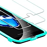 ESR Verre Trempé pour iPhone 7 / iPhone 8 [Gabarit de Pose Inclu][Pack de 2],...