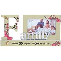 La famiglia in cui inizia e love never estremità Pretty Reflection-Cornice portafoto