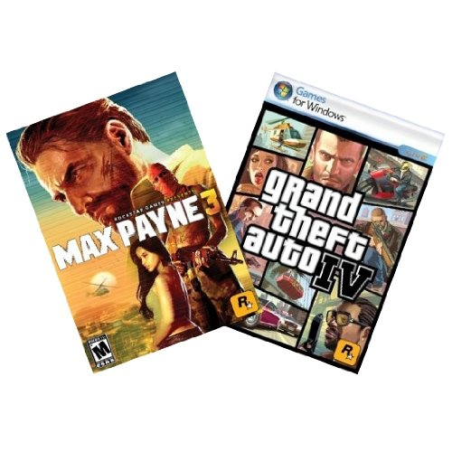 Max Payne 3 and Grand Theft Auto 4 Bundle