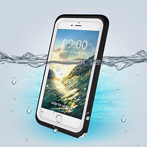 Sous-marin Couverture PC + TPU étanche pour iPhone 7 white