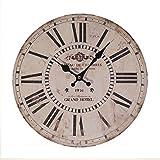 Vip 33cm Grand hotel Antique Inspired orologio da parete con numeri romani