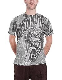 Gas Monkey Garage T Shirt Monkey Logo Allover Print Nuevo Oficial de los Hombres