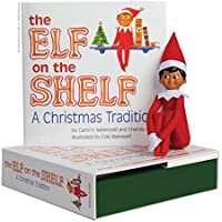 The Elf on the Shelf: A Christmas Tradition (Includes Boy Scout Elf with Dark Skin)