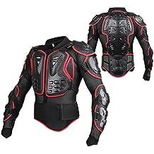 SunTime Chaqueta de Protección para Motocross Motos Ropa Protectora de Cuerpo Armadura Completo Profesional de Motocicleta