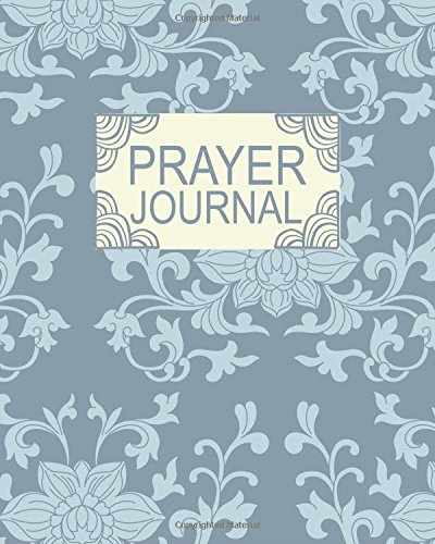 Blossom Powder (Prayer Journal: 100 Days Writing Down A Letter to God, Vintage Powder Blue Blossom, 6 x 9, 100 Pages (Bible Journaling Books To Write In, Band 2))