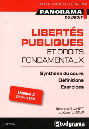 Libertés publiques et droits fondamentaux par Bertrand Pauvert