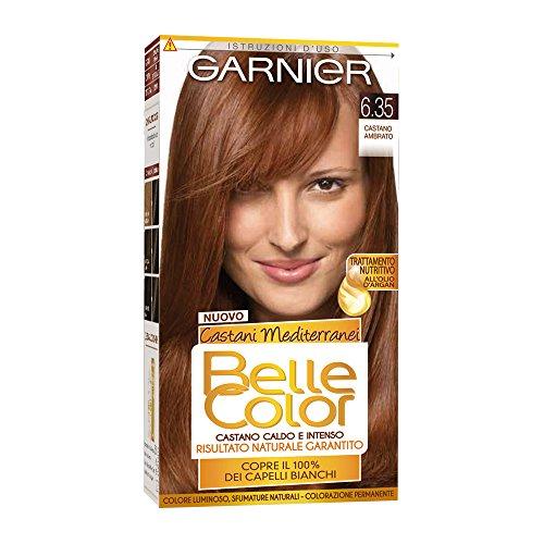 Hair Dye Color Brown Beautiful Mediterranean 6.35 Brown Amber