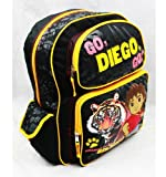 Full Size Black and Yellow Go Diego Go Mochila - Go Diego Go Bolso p/ Libros