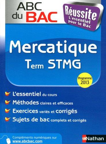 ABC du BAC Russite Mercatique Term STMG