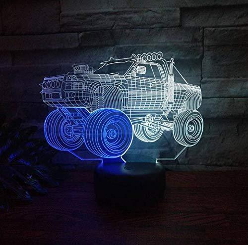 Buntes Nachtlicht Der Aufnahme-Led 3D Kreative Sichtnote, Die Lampe Der Geschenk-Licht-Partei-Dekoration 3D Auflädt (Partei-lichter Laser)