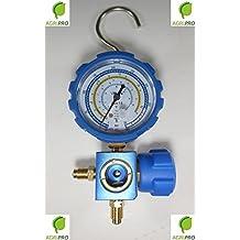 PUENTE MANOMETROS 2 VIAS R600 PROTECCION ANTI COLISION GAS REFRIGERANTE AIRE