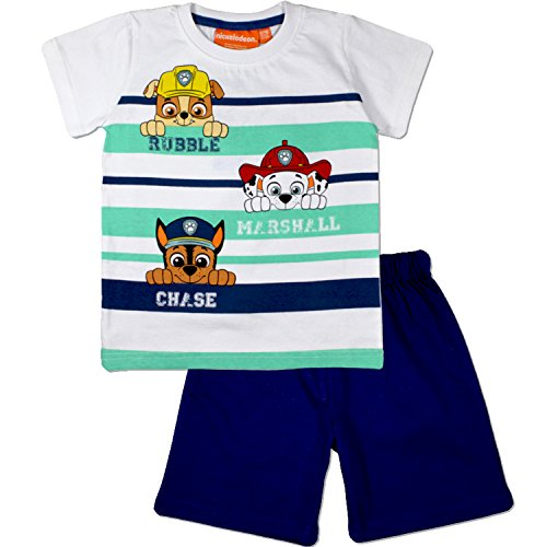Nickelodeon Paw Patrol Kids Summer Pajamas