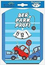 EigenArt Parkscheibe mit Spaßmotiv (Parkprofi)