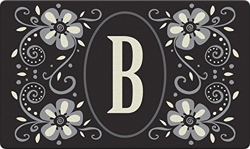 Toland Home Garden Monogramm B 18 x 30 Dekorative usa-produced Standard Indoor-Outdoor Design Matte 800058