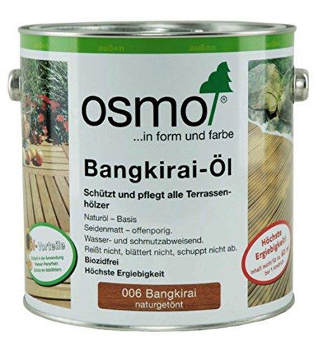 Preisvergleich Produktbild OSMO Bangkirai-Öl 006 Naturgetönt seidenmatt 2,5Ltr [Werkzeug]