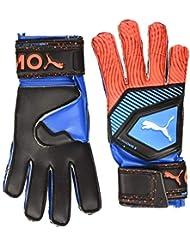 PUMA One Protect 3 Guantes De Portero, Unisex Adulto, Azul (Bleu Azur/Red Blast Black), 11