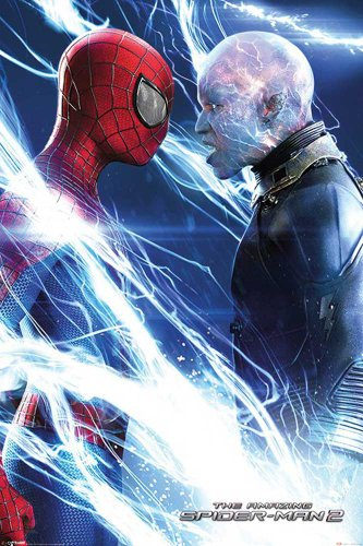 empire-merchandising-653871-the-amazing-spiderman-2-and-electro-poster-de-la-pelicula-tamano-61-x-91