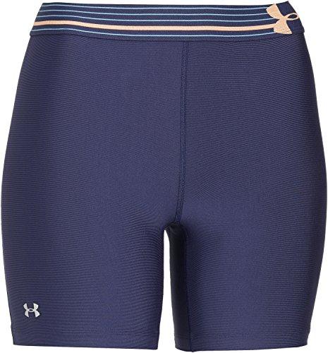 Under Armour Sportswear BH Heatgear Alpha Mid - Pantalones Cortos de Fitness para Mujer