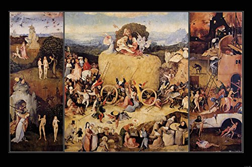 El-Bosco-Trptico-Del-Carro-De-Heno-1516-Fotomural-Autoadhesivo-180-x-120cm