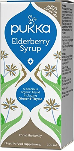 Pukka Herbs Elderberry Syrup 100ml Test