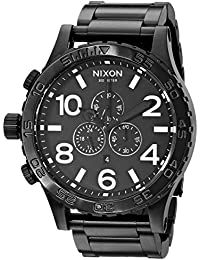 Nixon Men's Analogue Quartz Watch with Stainless Steel Bracelet – A083001