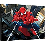 Disney Licence 525 O1 – Cuadro de Merida Spiderman, (3 x 100 x 75 cm), multicolor